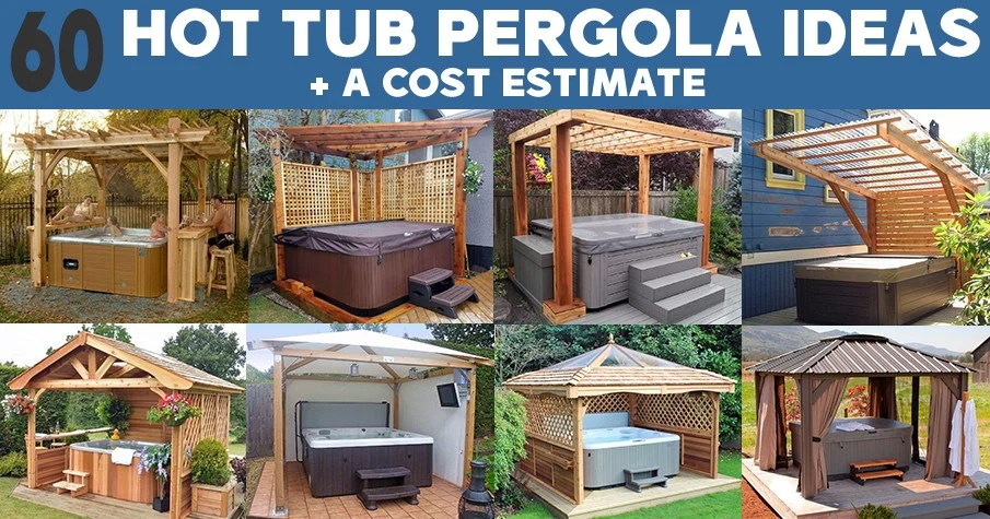 hot tub pergola design ideas diy