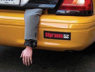 Sopranos Taxicab Campaign