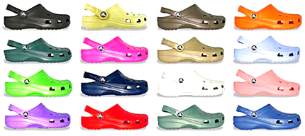 Crocs Trend led to Jibbitz