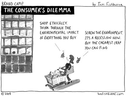 Consumers Dilemma Cartoon