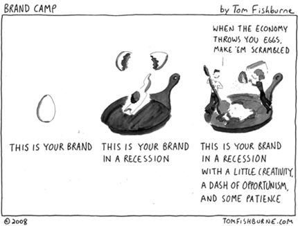 Your Brand in a Recession
