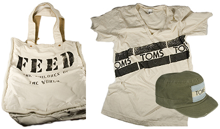 TOMS Shoes Shirt, Bag, Hat