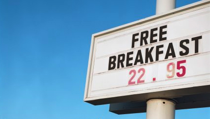 The Perfect Headline Free Breakfast