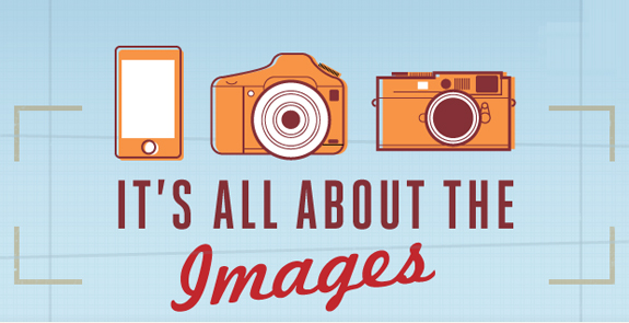 Online Mobile Images infographic Intro