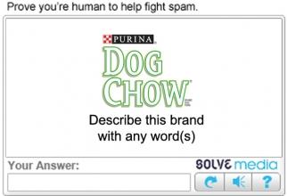 Purina Dog Chow Brand Tags Captcha