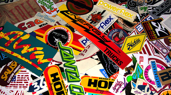 Guerrilla Marketing Simple Idea: Branded Stickers