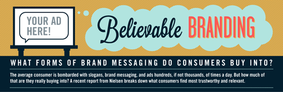 Believable Branding: What Media and Messaging Do Consumers Trust and Find the Most Relevant?