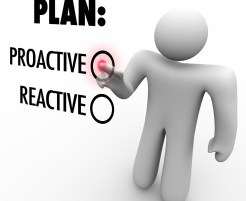 Plan Proactive or Reactive Strategy Choose to Take Charge