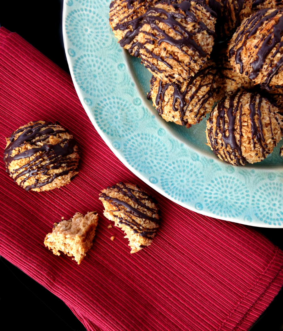 Mexican Chocolate Macaroons (Nut/Grain/Dairy Free) | Fresh Planet Flavor