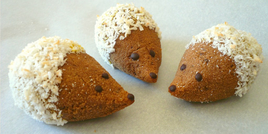 Hedgehog Cookies - GrokGrub