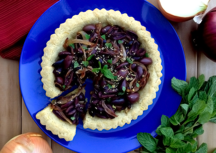 Greek Olive Pie - Fresh Planet Flavor