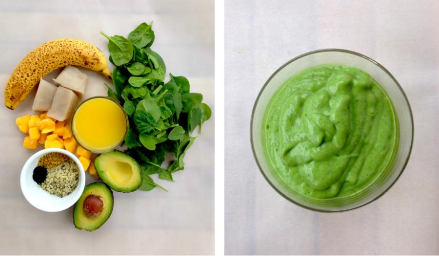 Green Breakfast Smoothie | Fresh Planet Flavor