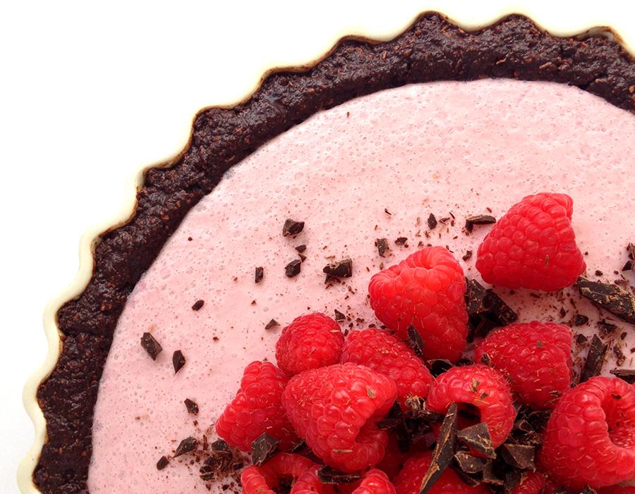 Raspberry Cream Pie (Grain/Dairy-Free, Paleo) | Fresh Planet Flavor