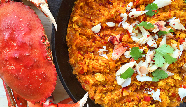 Easy Crab Curry | GrokGrub.com