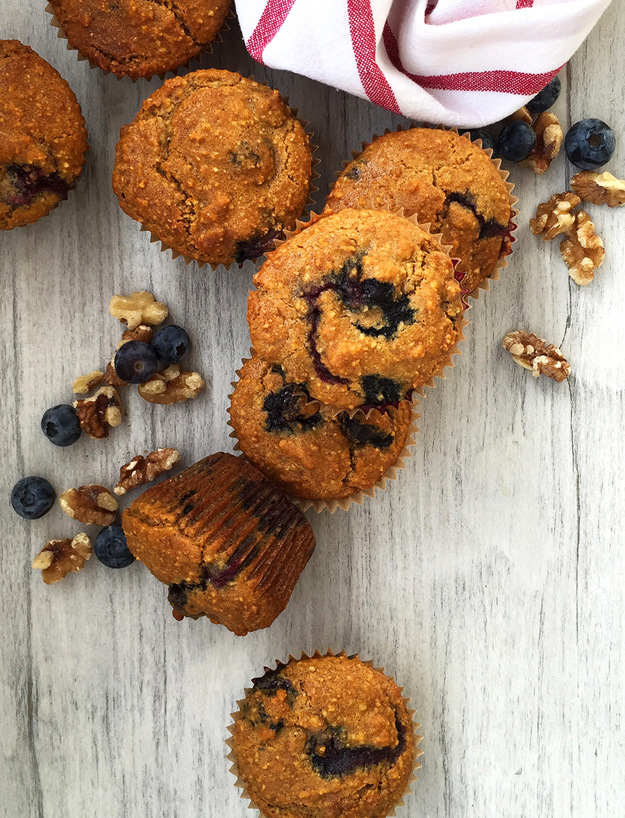Antioxidant Superfood Muffins (grain free, dairy free, refined sugar free, paleo) | Fresh Planet Flavor