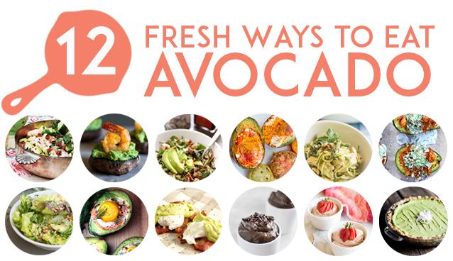 12 Fresh Avocado Recipes | GrokGrub.com