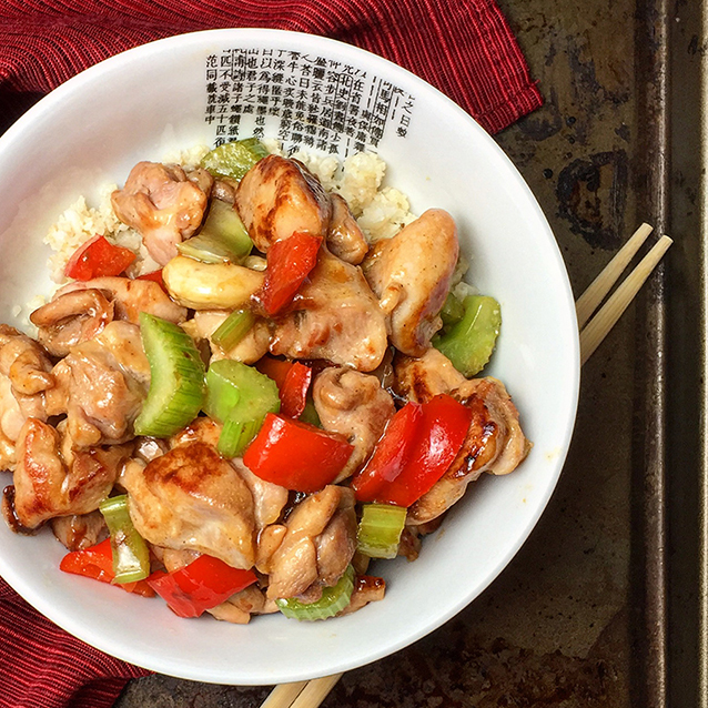 Kung Pao Chicken - Paleo Takeout Review and Giveaway | GrokGrub.com
