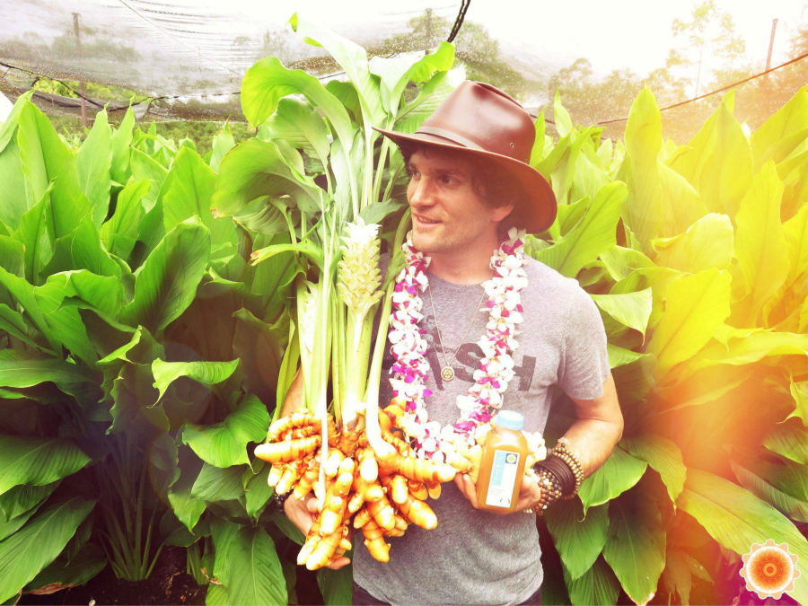 Temple Turmeric founder Daniel Sullivan | Fresh Planet Flavor