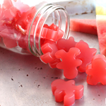Sour Watermelon Homemade Gummies: 75 Healthy Kid-Friendly Snacks (allergy-friendly for every occasion) | GrokGrub.com