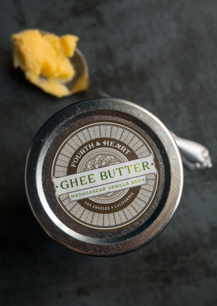 4th & Heart's ghee has a deliciously nutty, buttery, vanilla-soaked aroma and taste. Recommend!
