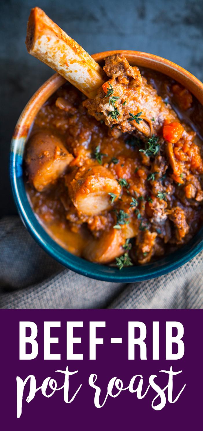 Beef-Rib Pot Roast