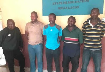 Inspector Dania Ojo Wanted For Killing Girl, Injuring Man And Five Arrested By Police At Ajegunle, Lagos