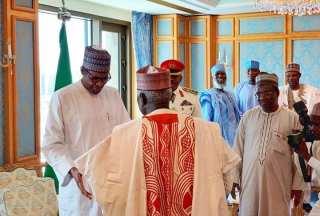 President Buhari Meets With Nigerian Leaders In Saudi Arabia[Photos]