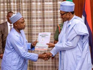 Buhari Gets Asset Declaration Form Ahead Inauguration