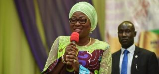 Www.Pmnewsnigeria.Com Bolanle Ambode Hands Over To Wife Of Lagos Governor-elect