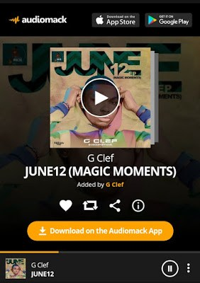 Gclef Releases New EP Titled June 12 (Magic Moments)