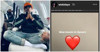 WizKid Sends Heartbreaking Message To Fans