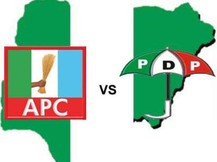 APC and PDP in Nigeria