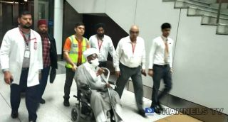 El-Zakzaky Arrives In India For Medical Treatment