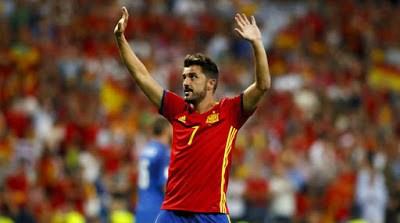 David Villa, Spain's All-Time Leading Goalscorer, Announces Retirement