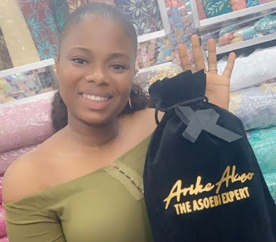 Be Inspired!!! Meet 24-Year-Old Law Graduate Who Makes Millions From Aso-Ebi/ Fabrics Business (WATCH VIDEO)