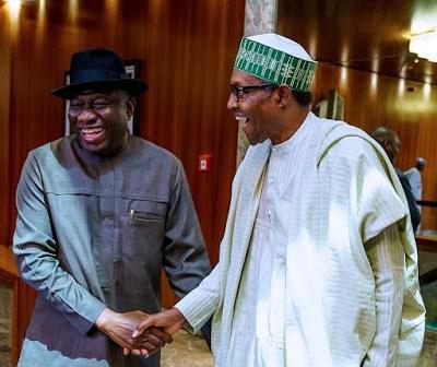 GEJ@62: Buhari Sends Birthday Message To Former Nigeria President, Jonathan