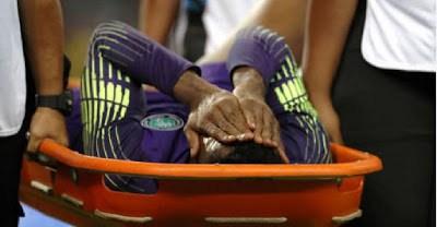Nigeria Goalkeeper Uzoho Grateful After Successful Knee Surgery(Photo)
