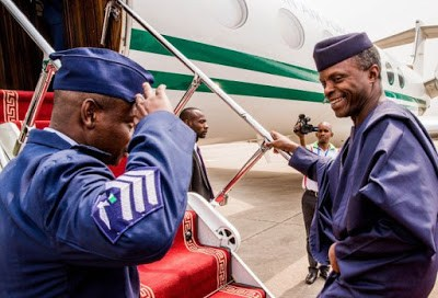 Vice President Osinbajo Journeys To Niger Republic To Attend ECOWAS Summit