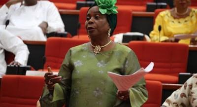 JUST IN!!! Senator Olujimi Sworn In To 9th Senate