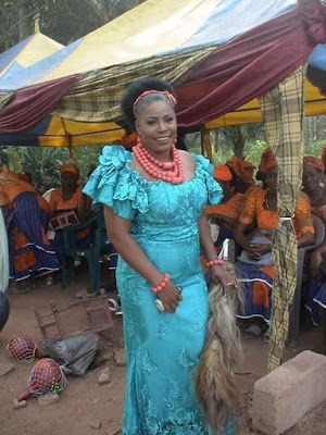 See Beautiful Photos As Reverend Sister Who Quits Convent marries
