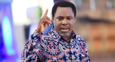Leaders Will Be Bedridden, Osinbajo Should Be Prayerful - TB Joshua Unveils His 2020 Prophesy