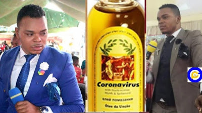 Angel Obinim has a cure for the Coronavirus he outdoors Anointing Oil as the remedy