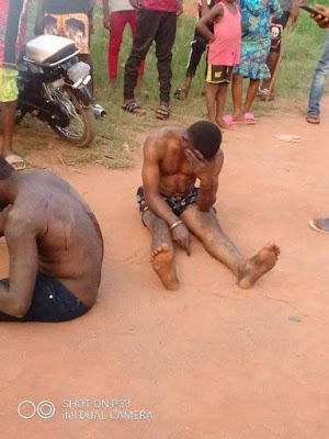 PHOTOS: Policeman And His Partner Caught Indulging In Gay Act