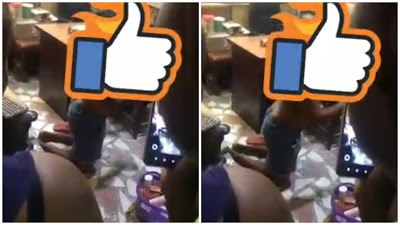 Lady Stripped Naked And Filmed For Stealing Milk In A Pharmacy
