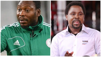 I Slept at T.B Joshua's Church's Altar For Weeks, And Got No Miracle – Daniel Amokachi
