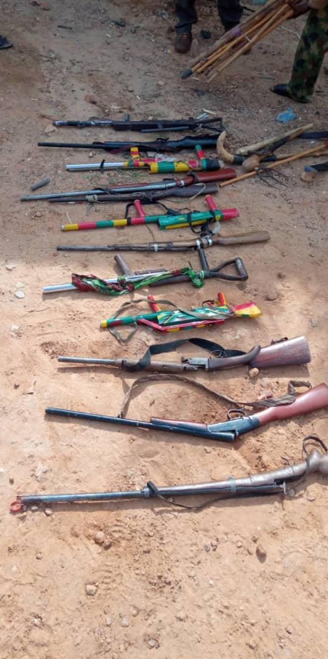 Troops Arrests Bandits