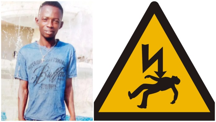 man dies from electrocution in Delta