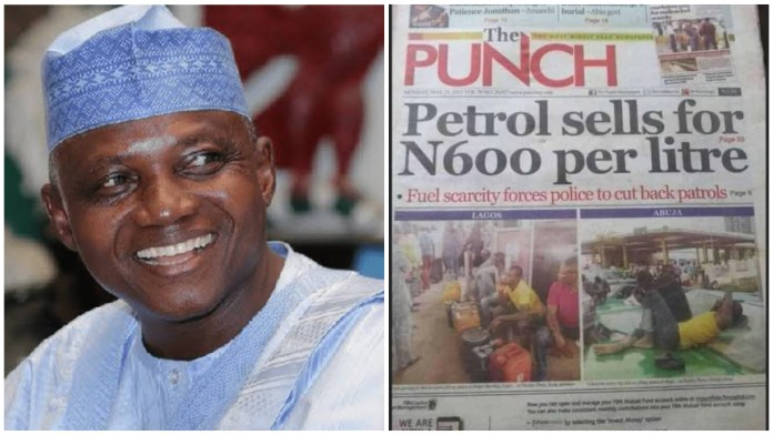 PDP Sold Fuel For N600 Per Litre