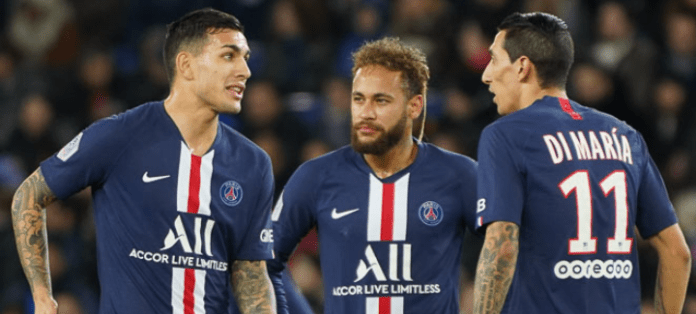Neymar, Di Maria And Paredes Test Positive For Coronavirus Test Positive For Coronavirus