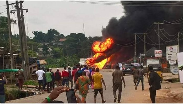 [See] Unbelievable Cause Of The Lagos Gas Explosion Revealed